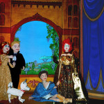 The Christmas Present of Christmas Past: 'Mock-Hazelles' along with our own marionettes.
