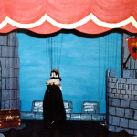 The first Elwoodettes theatre: King John in Babes in the Wood