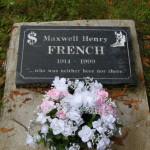 A unique gravestone.