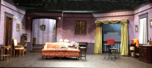 Set design by Elizabeth Elwood