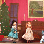 In The Highwayman's Christmas, Minx and the grandchildren all got puppets.