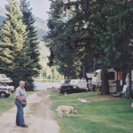 Max liked the RV sites.